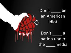 I need to write a paper appying on of the sociological theories to the song american idiot.?