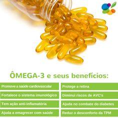 Os benefícios do Omega-3