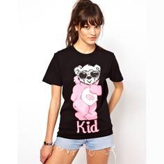 You will look great in a tee with great cotton fabric and decent design. Made of breathable cotton, it is not only sweat-wicking but durable on the basis of high comfort. Features cute style, crew neck, with lovely wearing glass bear printed, especially perfect for juniors who are sure to like this tee since it has brilliant choice of both fabric and design. No matter it's time doing sports or just hanging out with friends, you will definitely enjoy the time spend with this soft adorable…