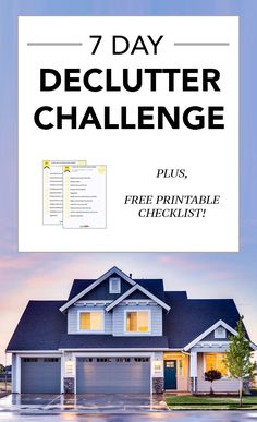 They say a cluttered space leads to a cluttered mind…and we would hate to see you start the new year off with a cluttered mind. To help you out, we've come up with a 7 Day Declutter challenge to help get your home in tip top shape! The Declutter challenge is a 7 day bootcamp (with…Read More