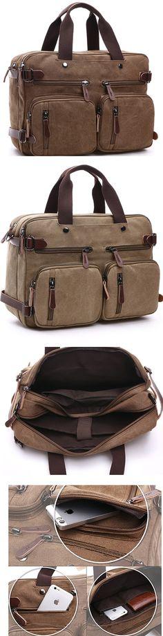 Classic Unisex Canvas Hand bag Shoulder bag Backpack for Men & Women Bagail.com