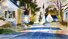 Tony Couch: Just bought his book, eagerly waiting for it to arrive in the mail so I can start experimenting with my new watercolors.