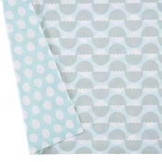 Well Nested crib skirt | The Land of Nod - if you did white bumper