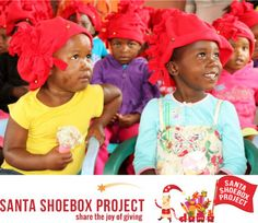 The creche in Sovane has been lucky enough to be recipients of the Santa Shoe Box project for 2013 and 2014.