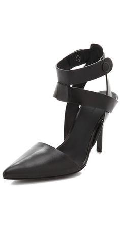 Alexander Wang  Sonja Ankle Strap Pumps  Style #:AWANG40770  $485.00