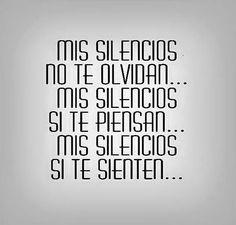 Mis silencios