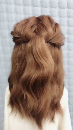 Short Hair Makeup, Blonde Hair Makeup, Work Hairstyles, Braided Hairstyles, Casual Hairstyles For Long Hair, Lazy Girl Hairstyles, Easy Everyday Hairstyles, Hairstyles Videos, Simple Hairstyles