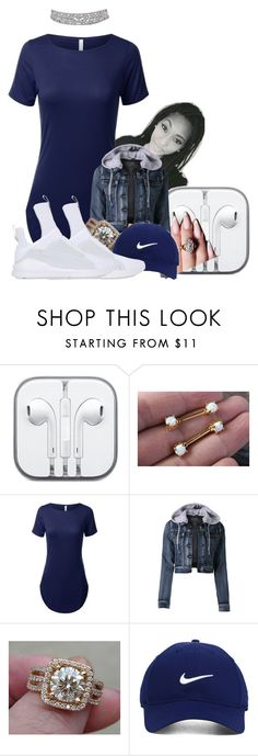 """Untitled #2303"" by kayla77johnson ❤ liked on Polyvore featuring CO, LE3NO, Nike Golf and Puma"
