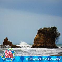 #ElSaborDeMiEcuador se lo disfruta en todo el país. ¿Qué tal un paseo a Playa Escondida con la familia?