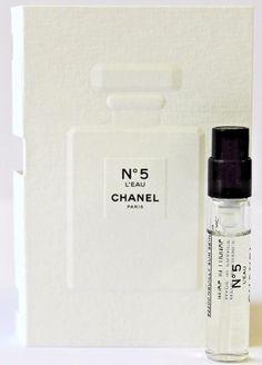 Chanel L'Eau Perfume Sample Paris Perfume, Dior Perfume, Perfume Scents, Perfume Bottles, Free Samples By Mail, Free Makeup Samples, Free Stuff By Mail, Fragrance Samples, Perfume Samples