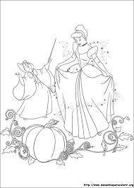 Resultado De Imagem Para Desenhos Para Colorir Da Cinderela