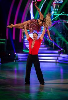 Steve & Ola dance the Salsa to 'Jump in the Line' by Harry Belafonte Scored: = Strictly Dancers, Strictly Come Dancing, Crazy Celebrities, Celebs, Strictly 2014, Bbc One Show, Harry Belafonte, Lucky Man, Learn To Dance