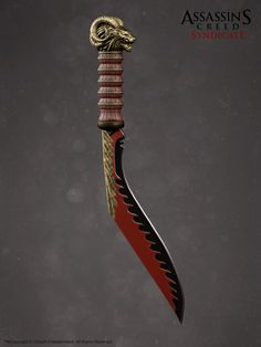 ArtStation - Assassin's Creed Syndicate - Weapons, Hugues Thibodeau
