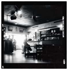 Step into the light (NOLA's Coffee Bar - Frederick, MD) #ilfordphoto #ilfordfilm #ilforddelta3200 #shootfilm #analoguephotography