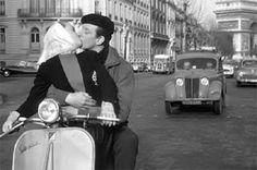 Audrey Hepburn with Vespa