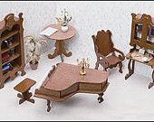 Now that is an inexpensive way to furnish the library in your dollhouse!