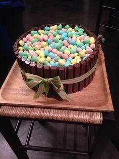 Easter Dinner Cake Easter Cake, Easter Dinner, No Bake Cake, Birthday Cake, Cakes, Baking, Desserts, Food, Tailgate Desserts