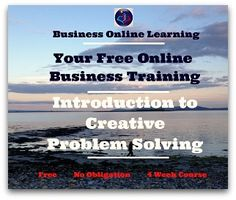 Excellent Free Online Business Training Just For You! Creative Self Development Business Video, Online Business, Self Development, Problem Solving, Just For You, Join, Management, Positivity, Training