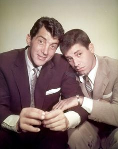 Dean Martin and Jerry Lewis - loved watching jerry lewis films as a kid! brilliant!