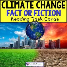 CLIMATE CHANGE True or False TASK CARDS Task Box Filler With Climate Change being such an important part of our news, I wanted to include ALL students in this activity. This set of 20 task cards contains 10 TRUE and 10 FALSE responses. Math Skills, Social Skills, Japanese Soaking Tubs, Reading Task Cards, Task Boxes, Special Education Classroom, Middle School Science, Science Lessons, Best Vacations