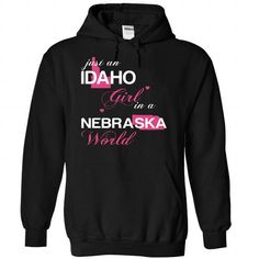 (IDJustHong001) Just An Idaho Girl In A Nebraska World - #hoodie scarf #purple sweater. BUY IT => https://www.sunfrog.com/Valentines/-28IDJustHong001-29-Just-An-Idaho-Girl-In-A-Nebraska-World-Black-Hoodie.html?68278