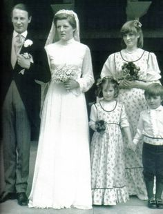 March 1978 - Westminster Abbey | Lady Diana Spencer as Matron of Honor at her sister Jane Spencer (later Baroness Fellowes) wedding to Robert Fellowes.