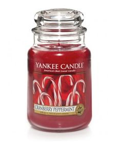 Yankee Candle Cranberry Peppermint