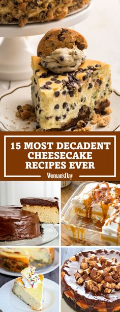 15 Most Decadent Cheesecake Recipes Ever by Woman's Day