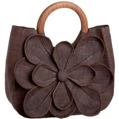 Love this Flower tote... such Inspiration.  I have heaps of fabric flowers with instructions on my board Stitching ~ Flowers Dimensional Floral Embellishment ...which could help