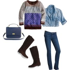 """""""New Boots!"""" by katherynh on Polyvore"""