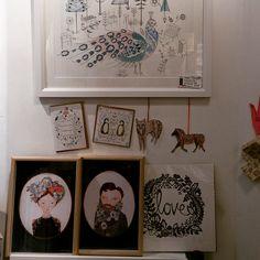 Love is in the hair...hare...air? - http://www.edinburghart.com/love-is-in-the-hair/ - http://www.edinburghart.com/wp-content/uploads/IMG_20160211_163330-1024x1024.jpg - #ClaireFleck, #KateSheridan, #KirstyBaynham, #Love, #Prints, #TheGreyEarl, #Valentines, #WillBroome,