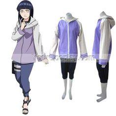 Naruto Hinata Hyuga Women's Cosplay Costume, Naruto Cosplay Costumes, Cosplay Costumes