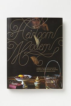 Heirloom Modern for weekend morning reading #anthropologie #PinToWin