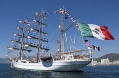#DESTACADAS:  Buscan a cadete que cayó del buque escuela 'Cuauhtémoc' en mar de India - Noticieros Televisa