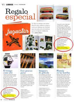 Libros Destacados en revista Vivienda y Decoración - MilAires, Boutique del Libro.