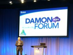 At the Damon Forum.