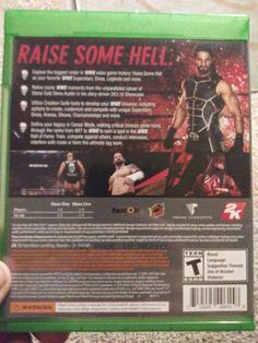 WWE 2K16 (Microsoft Xbox One, 2015) Xbox One, Microsoft, Wwe, Ebay