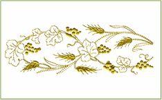 Frontera # 1 diseños de bordado