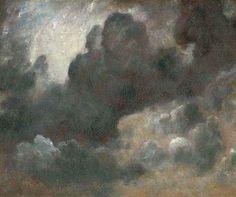 John Constable, Studio di nuvole, 1822