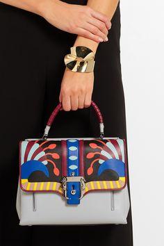 Paula Cademartori - Petite Faye printed leather shoulder bag 539c18e24892f