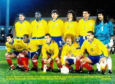 Equipos de fútbol: SELECCIÓN DE COLOMBIA contra Ecuador 10/07/1995