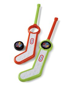 Another great find on #zulily! Clearly Sports Hockey Set by Little Tikes #zulilyfinds