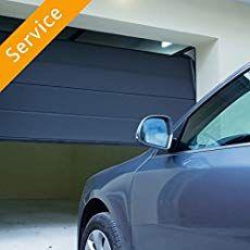 Expert advice on basic DIY garage door repairs including fixing a garage door that is binding in the opening, is rolling poorly in the tracks, or is too heavy and needs adjustment, needs to be painted, or is sagging. Sliding Garage Doors, Diy Garage Door, Garage Door Springs, Garage Door Makeover, Old Garage, Garage Door Design, Garage Door Opener Installation, Garage Door Opener Repair, Garage Door Sensor