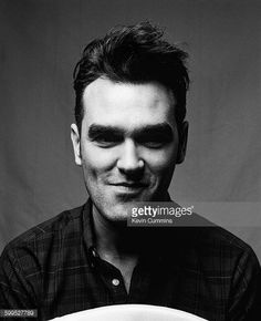 Morrissey, photograph by Kevin Cummins
