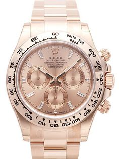 5bb3bd605e0 Rolex Cosmograph Daytona 116505 Everose-Gold Pink Diamant