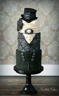 Victorian groom's cake by Tamara