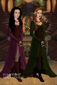 Silena and Juniper  Lotr Style By Morgan D Jackson