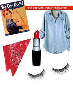 rosie the riveter halloween costume