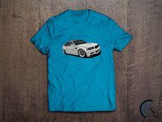 White BMW M3 E46 T-Shirt