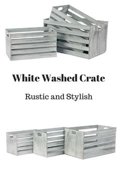I love these crates!! So simple and stylish!! #rustic #farmhouse #homedecor #ad (scheduled via http://www.tailwindapp.com?utm_source=pinterest&utm_medium=twpin)